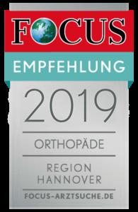 Focus Siegel Orthopäde Region Hannover Orthopädie Zentrum Hannover